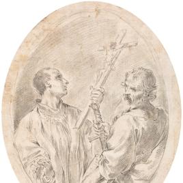 San Pablo y San Luis Gonzaga (?)
