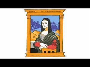 Leonardo y la copia de Mona Lisa