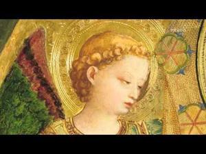 """La """"Virgen de la granada"""" y el """"Funeral de San Antonio abad"""" de Fra Angelico"""