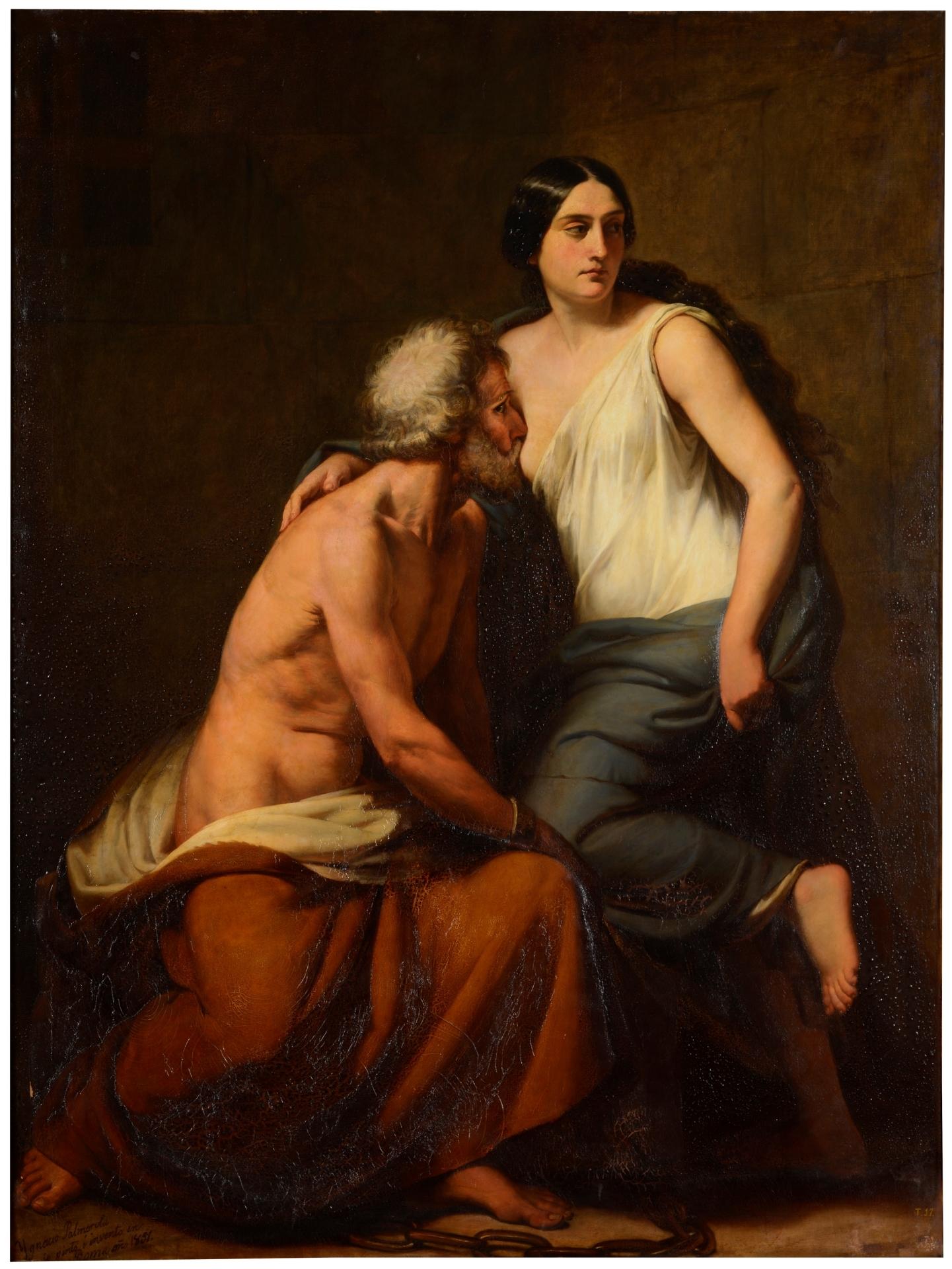 Roman Charity - The Collection - Museo Nacional del Prado