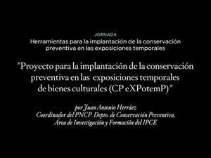 Proyecto para la implantación de la conservación preventiva en las exposiciones temporales