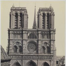 Fachada de Notre-Dame de París