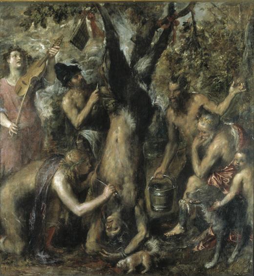 """El """"último Tiziano"""" (1554-1576)"""