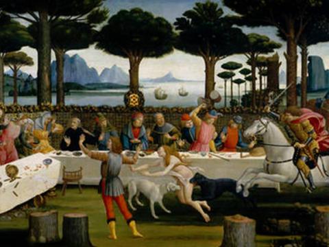 <em>Escenas de la historia de Nastagio degli Onesti</em>, Sandro Botticelli, comentada por Manuel Vázquez