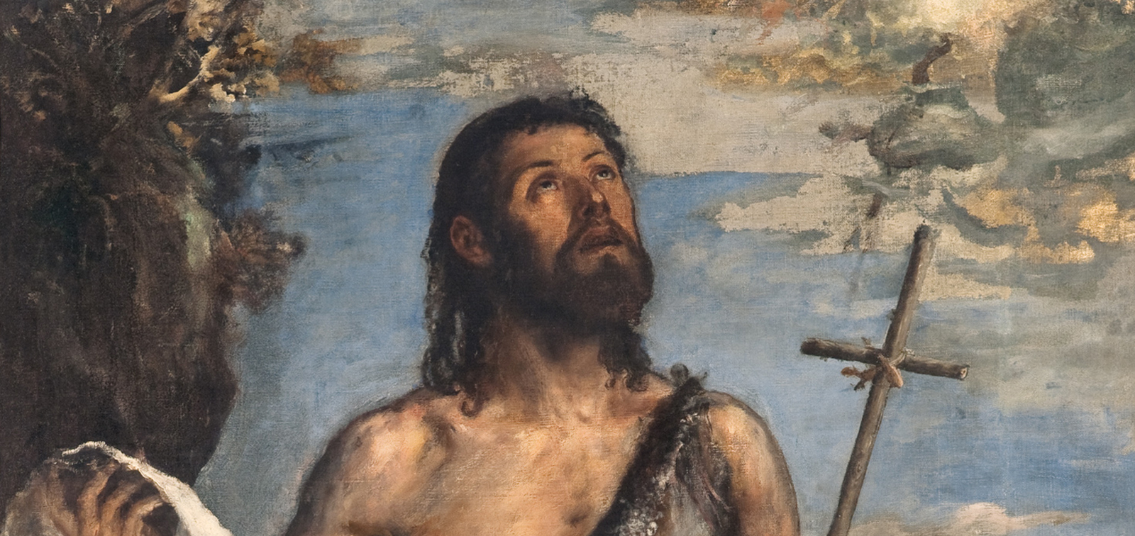 Titian. Saint John the Baptist