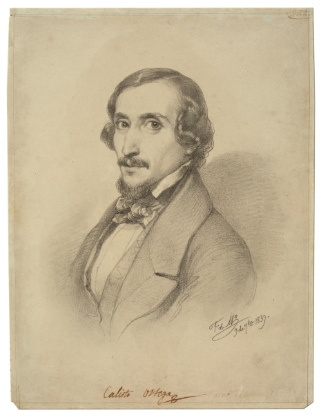The Painter and Engraver Calixto Ortega