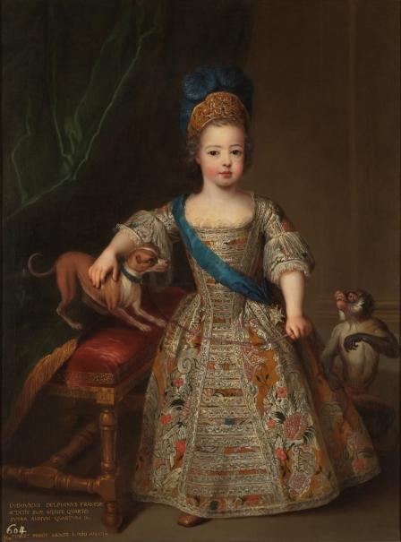 Luis XV, niño