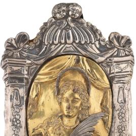 Mariana de Neoburgo, portapaz de plata