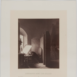 Rembrandt en su taller