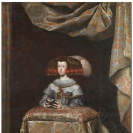 Mariana de Austria in Prayer