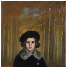 Ángela Benlliure, hija del pintor