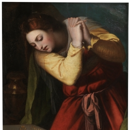 Mary Magdalene before Christ's Tomb
