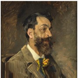 El pintor Juan Espina y Capo