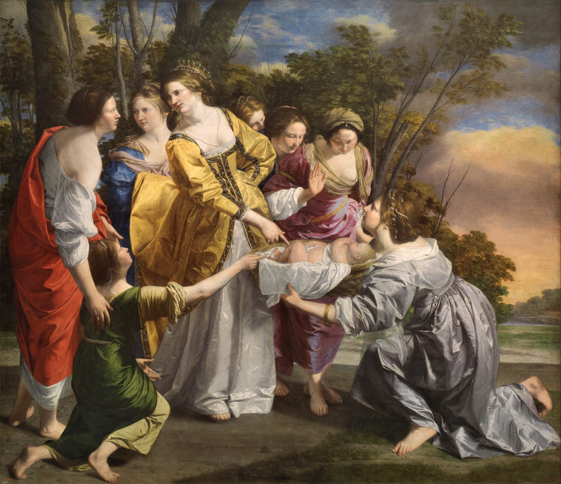 The Finding of Moses - The Collection - Museo Nacional del Prado