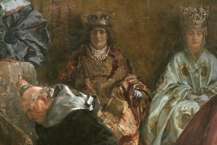 Expulsión de los judíos de España (año de 1492), de Emilio Sala