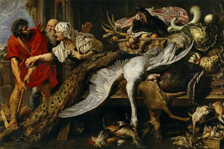 Filopómenes descubierto, de Rubens y Snyders
