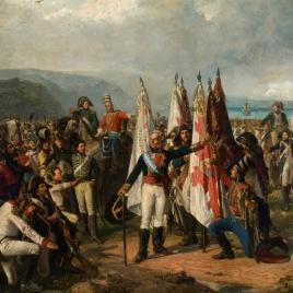 Juramento de las tropas del marqués de la Romana