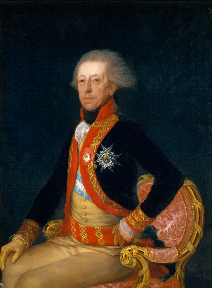 <p>Francisco de Goya,&nbsp;<em>Retrato del general Ricardos</em>, 1794, Legado Fern&aacute;ndez Dur&aacute;n, Madrid, Museo del Prado</p>