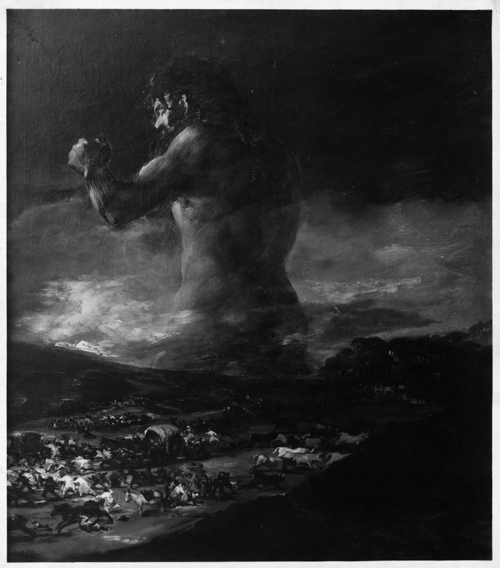 El Coloso.Fotografía de la Casa Hauser y Menet, 1931. Archivo del Museo Nacional del Prado