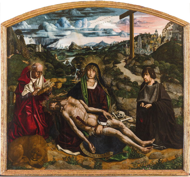 The Desplà Pietà, a masterpiece created jointly