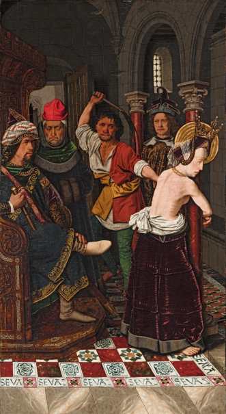 Flagellation of Saint Engracia