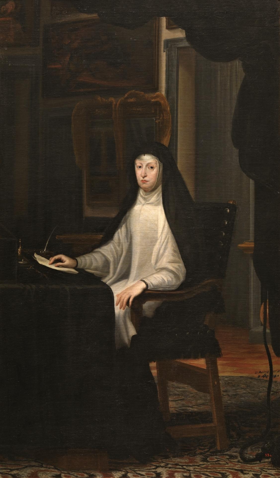 Queen Mariana Of Austria The Collection Museo Nacional Del Prado