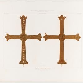 Cruz de la Victoria o de Pelayo en la Cámara Santa de la Catedral de Oviedo