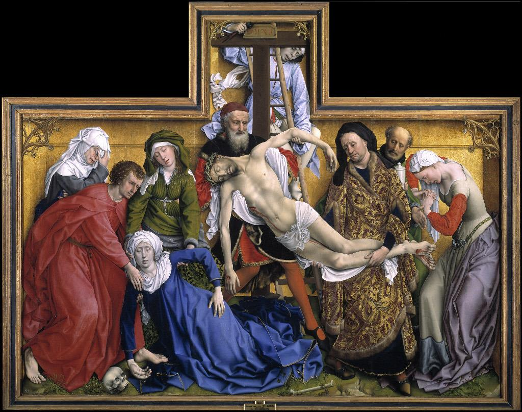 "The Museo del Prado and Fundación de Amigos del Museo del Prado present the ""Rogier van der Weyden"" exhibition"