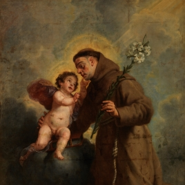 Saint Anthony of Padua with the Infant Christ