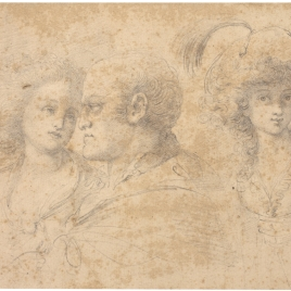 Tres estudios de bustos