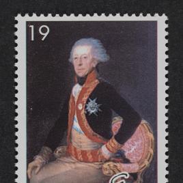 Serie de sellos Pintura Española. Francisco de Goya y Lucientes