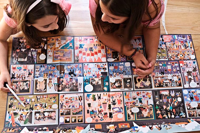 5. Plano para familias del Museo del Prado