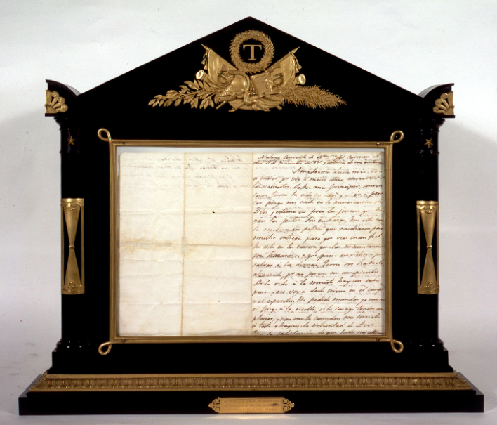 Última carta de José María Torrijos a su esposa, Luisa Sáenz de Viniegra