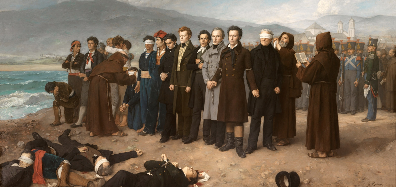 Exposición. A Painting for a Nation. The Execution of Torrijos