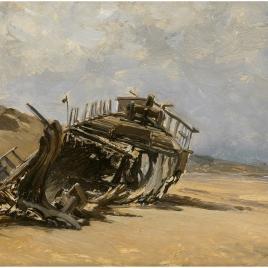 Restos de un naufragio (San Juan de Luz)
