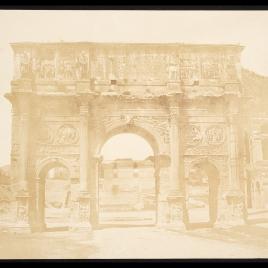 Arco de Constantino en el Foro, Roma