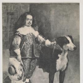 Enano con un perro