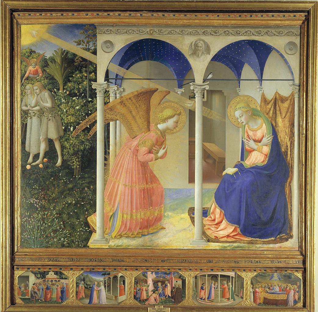 Anunciación, La [Fra Angelico]