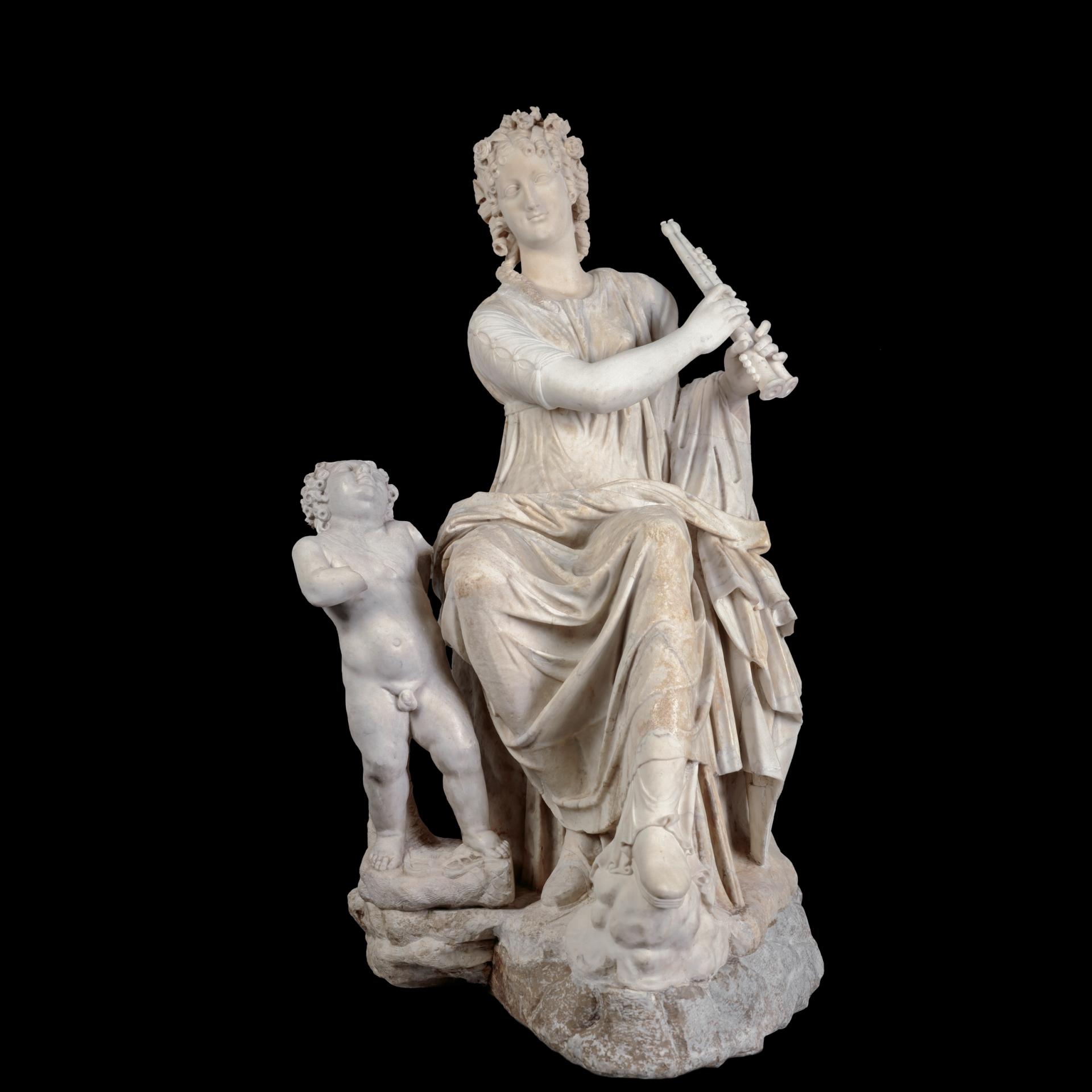 La Musa Euterpe - Colección - Museo Nacional del Prado