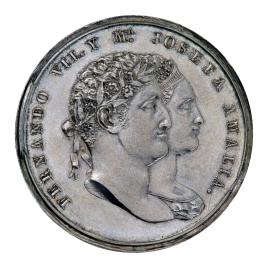 Lealtad de los españoles a Fernando VII y María Josefa Amalia