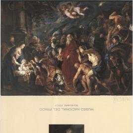 Restauración de La Adoración de los Magos de Rubens / Museo Nacional del Prado.