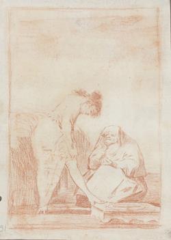 El Museo del Prado presenta una selección de dibujos de Goya prácticamente inéditos en exposición