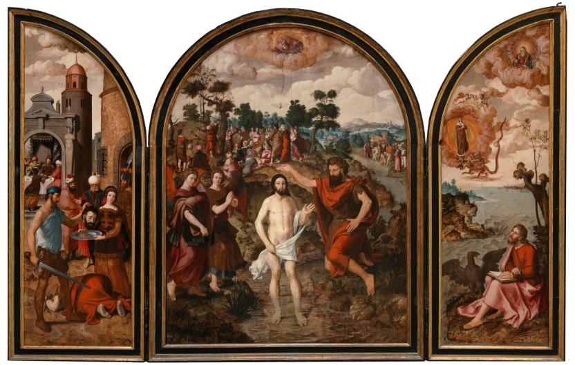 Tríptico de los santos Juanes