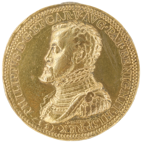 Medal of Philip II /Atlas the Giant