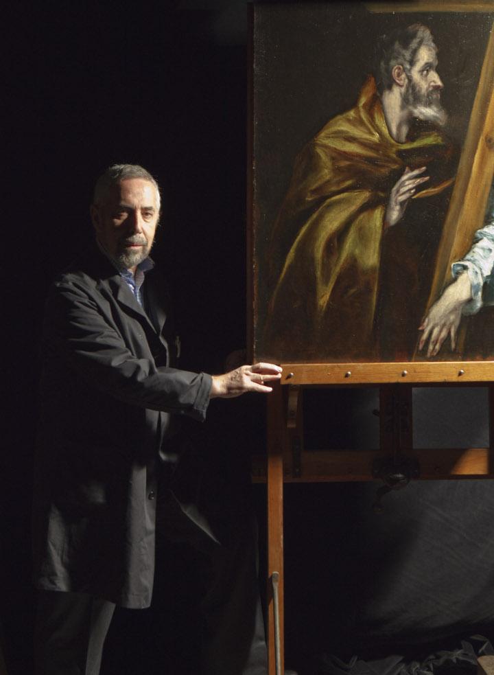 Rafael Alonso, restaurador del Museo del Prado, Premio Nacional de Restauración y Conservación de Bienes Culturales del año 2010