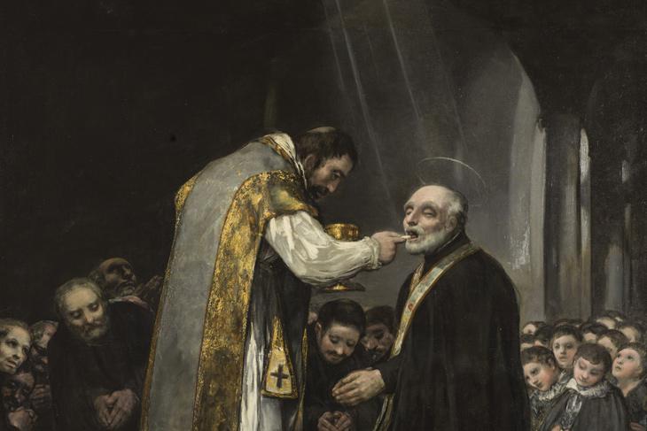 El Museo del Prado exhibe La última comunión de san José de Calasanz de Goya