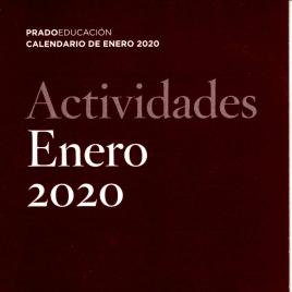 Actividades : enero 2020 : Prado Educación : calendario de enero 2020 / Museo Nacional del Prado