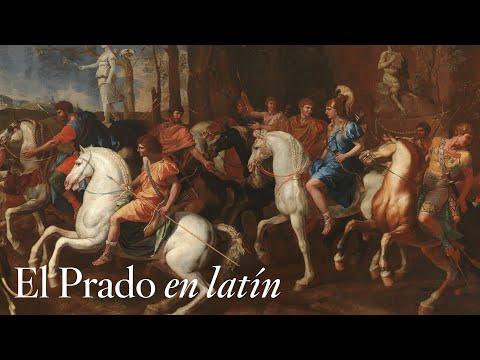 """La caza de Meleagro"", de Poussin, con comentarios en latín"