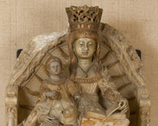 The Virgin enthroned with the Christ Child