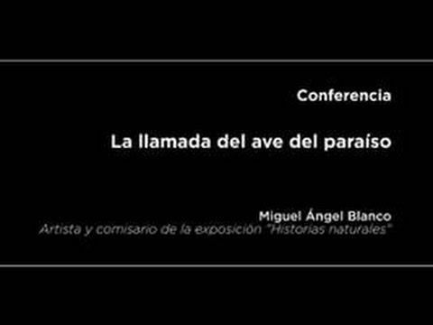 Conferencia: La llamada del ave del paraíso